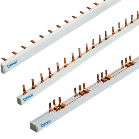 Comb Busbar Pin and Fork 1Pole 2 Pole 3Pole