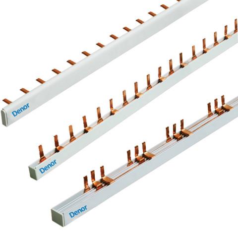Comb Busbar Pin and Fork 1Pole 2 Pole 3Pole