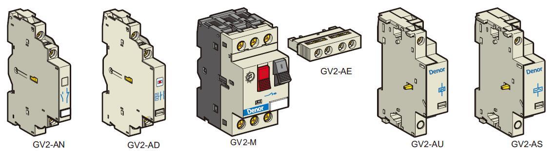 Denor Motor Protective Circuit Breakers