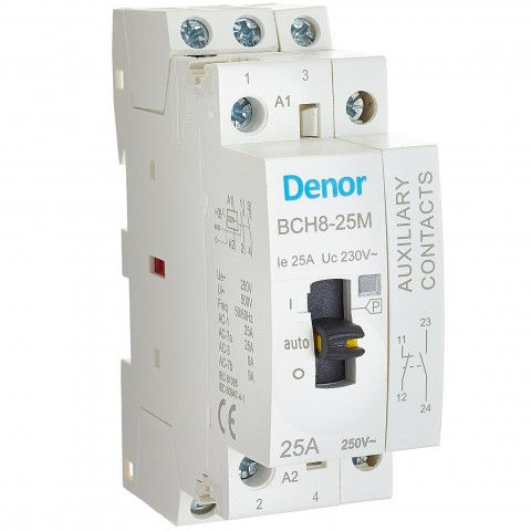 Modular Contactor + ON OFF Auxiliary