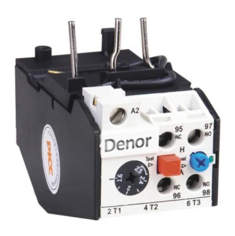 Thermal Overload Relay 3UA JRS2 Denor Industries Co Ltd
