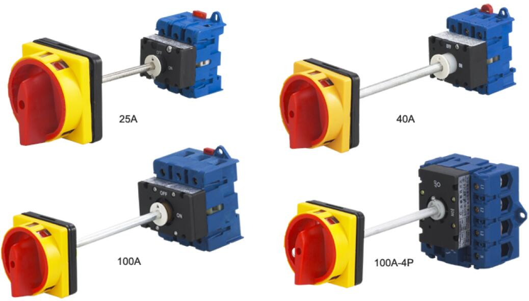 Rotary Remote Switches Denor