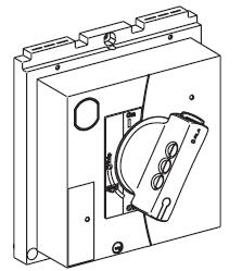 Direct-rotary-handle
