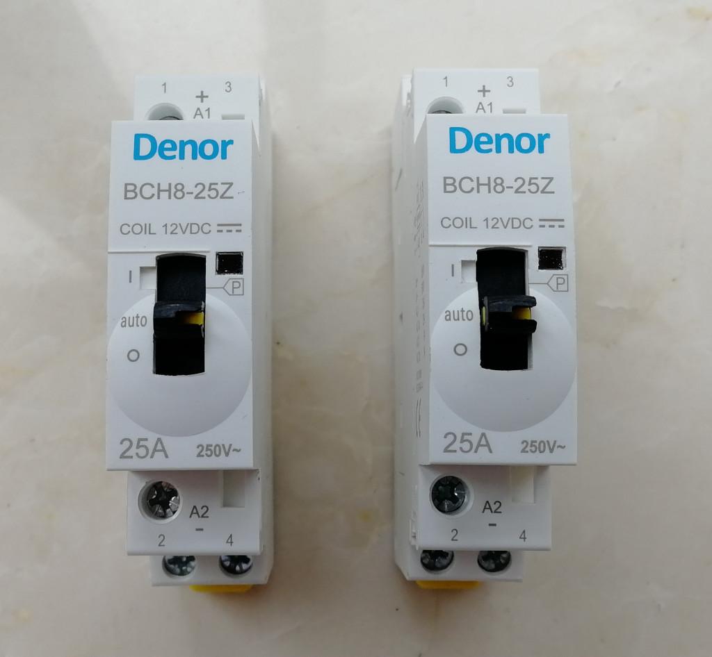 12VDC contactor-Denor 02