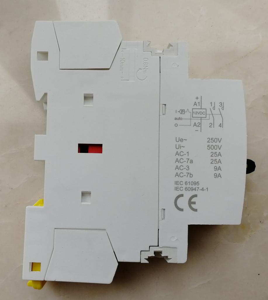 12VDC contactor-Denor 01