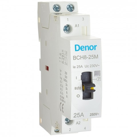 Manual Operated Modular Contactor BCH8-25M 2P 2NO 25A