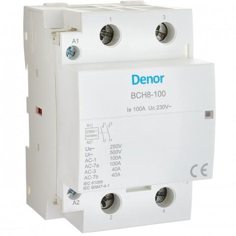 Modular Contactor BCH8-100 2P 2NO 100A