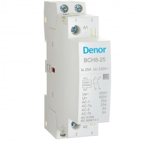 Modular Contactor BCH8-25 2P 2NO 25A